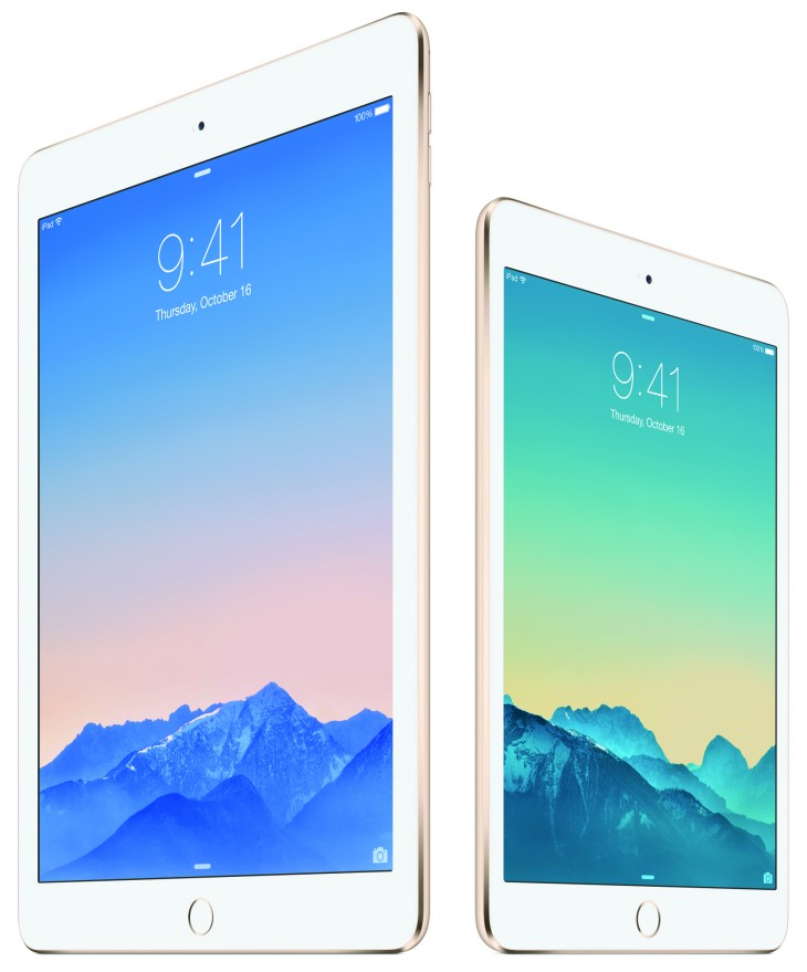 Apple's iPad Air 2 and iPad mini 3 to go on sale in China imminently