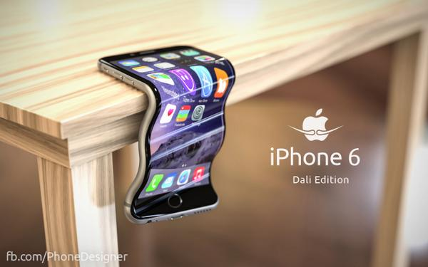 A parody of the iPhone 6's 'bend' issues