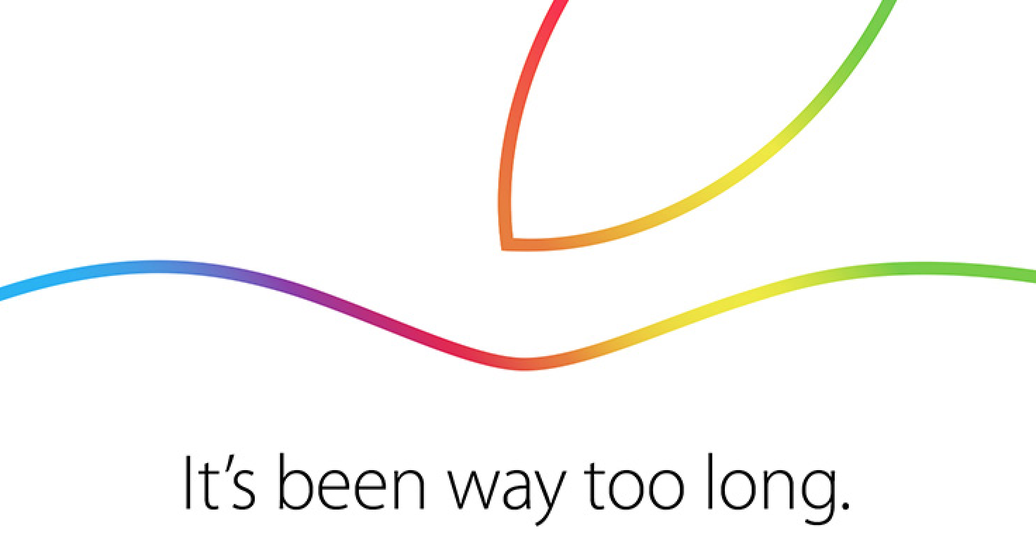 Apple Confirms October 16 Event: 'It's Been Way Too Long'