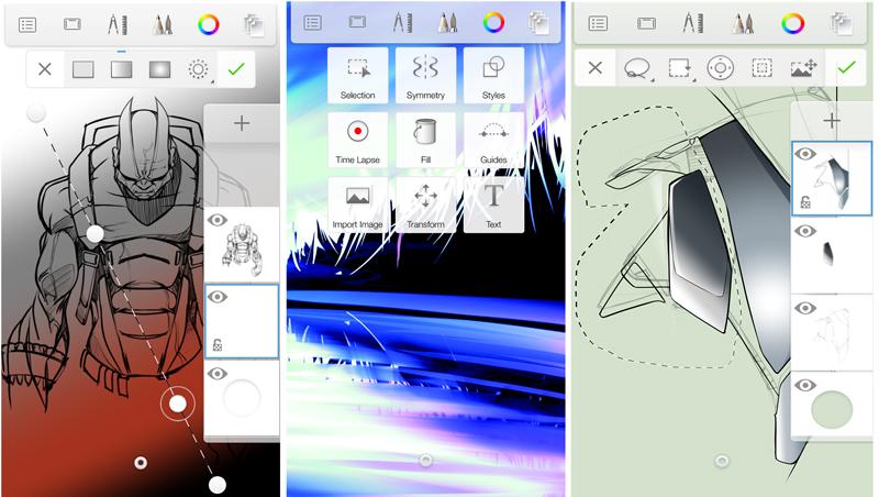 Autodesk's SketchBook App Updates Unify its Mobile Platform