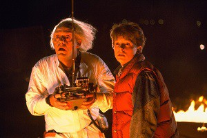 Back to the Future, the highest-grossing film of 1985