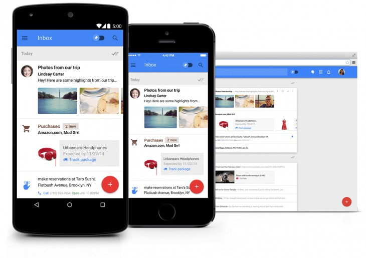 Inbox by Gmail at work: Great at organizing but still overwhelming