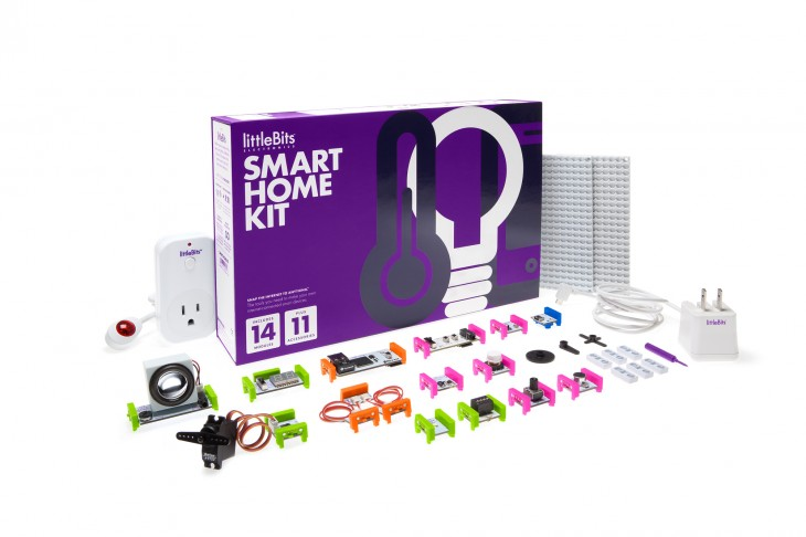 LittleBits introduces Internet of Things enabled Smart Home Kit
