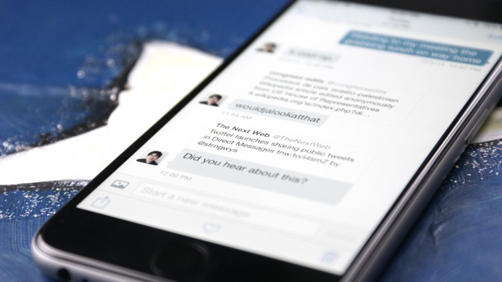 Twitter launches group DMs, plus video capture and sharing