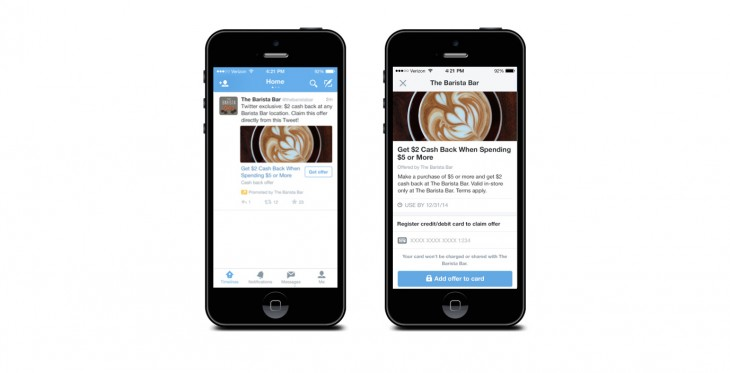 Twitter introduces Twitter Offers with merchant deals right in your feed