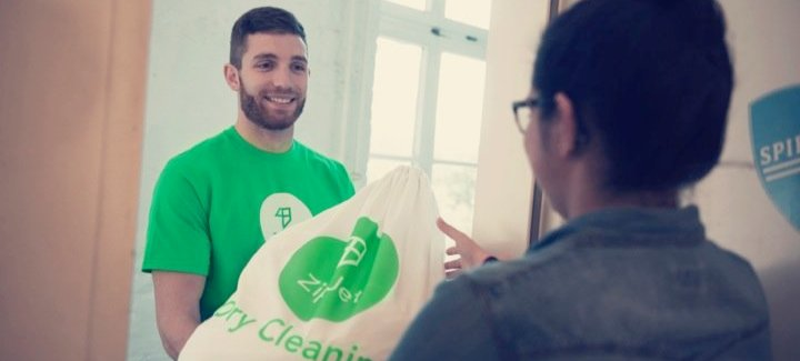 ZipJet: Rocket Internet launches on-demand laundry service in London