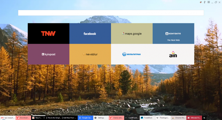 Yandex Browser is a Bold UI Experiment