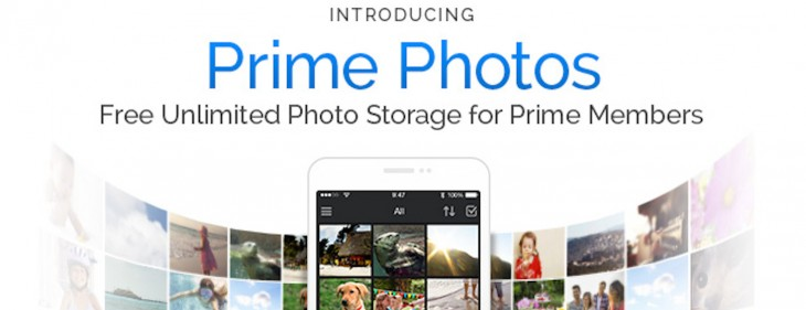 UK Amazon Prime members can now get free unlimited storage for their photos
