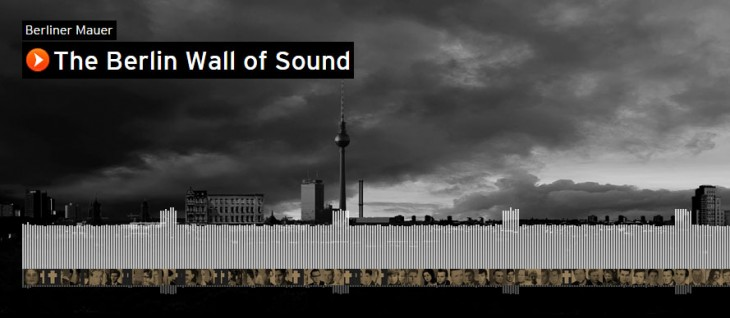 SoundCloud's 'Wall of Sound' commemorates the fall of the Berlin Wall 25 years ago