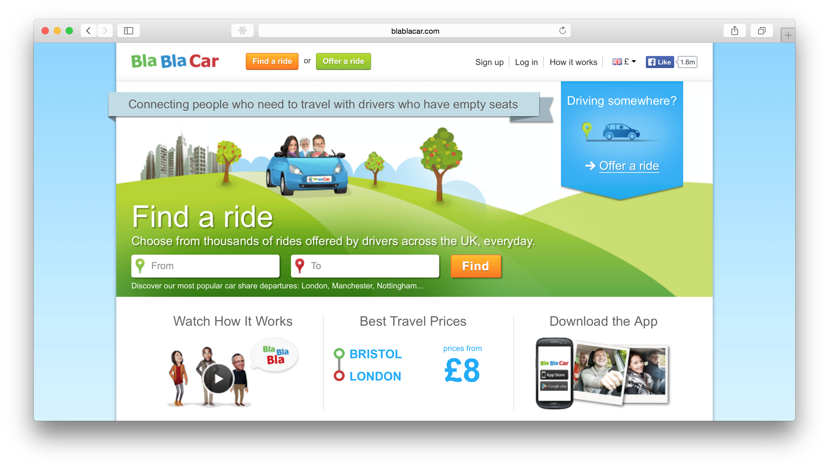 blablacar sizes up a city to city ridesharing empire. Black Bedroom Furniture Sets. Home Design Ideas