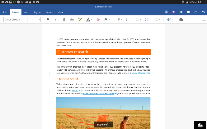 Microsoft goes all in with office for phones and tablets - Free office apps for android ...