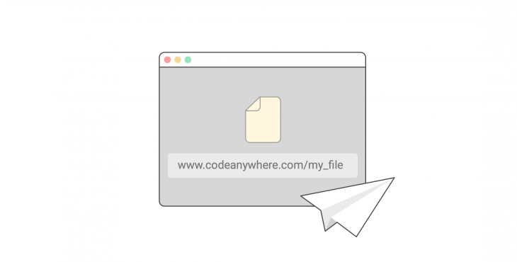 CodeAnywhere now lets users collaborate on code by sharing a link