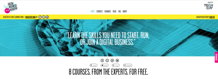 Tech City UK launches government-funded online learning platform for digital and business skills