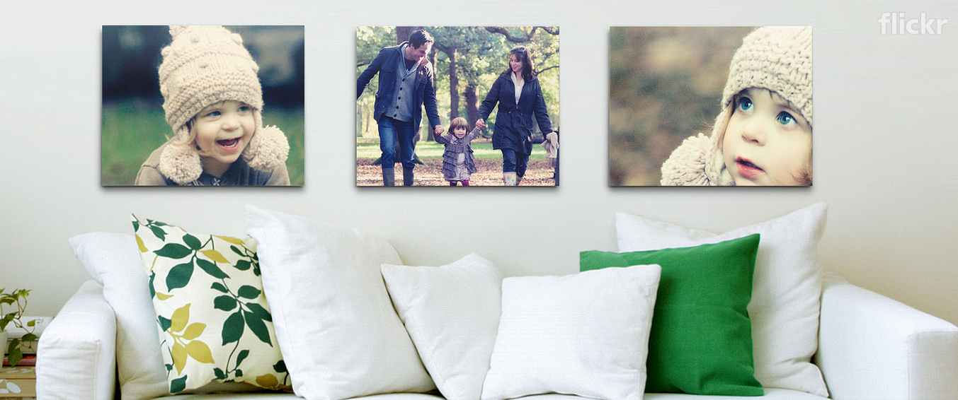 Flickr Launches Wall Art Printing Globally
