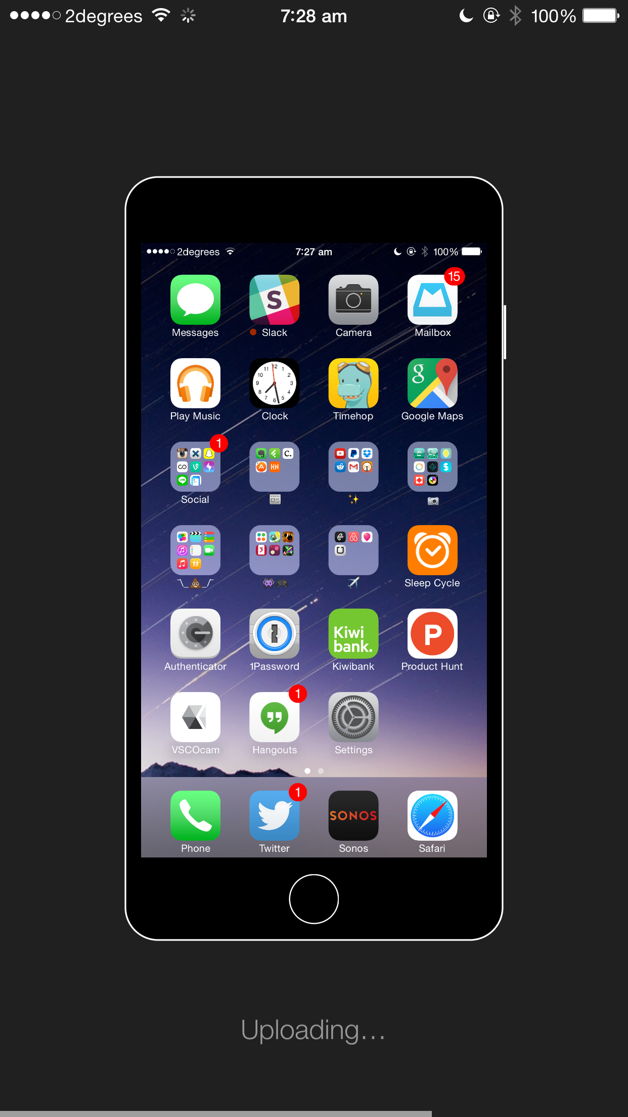 Apps: Show Off Your Icons With #Homescreen For IOS