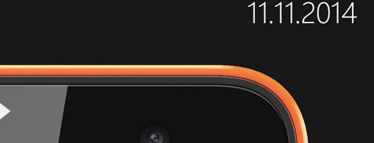 Microsoft will reveal its first Nokia-free Lumia on November 11