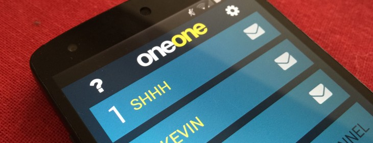 OneOne is a new secure messaging app designed to make your chats untraceable