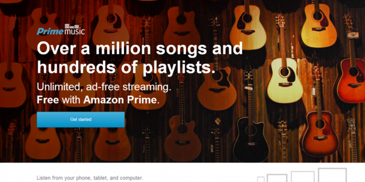 Amazon brings its Prime Music streaming service to the UK