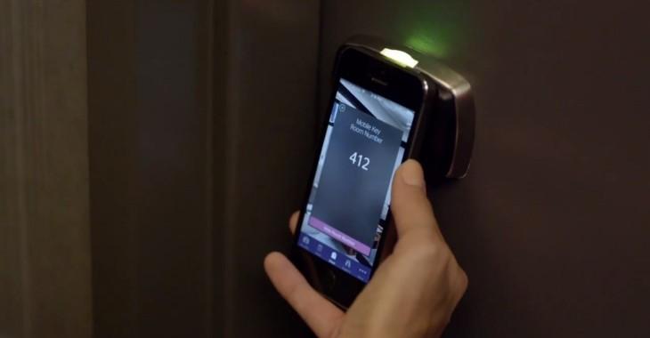 Smartphones As Hotel Room Keys