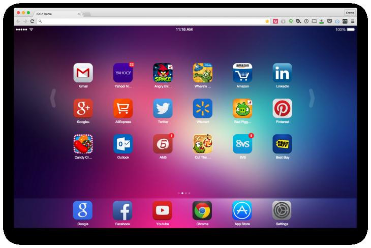 iOS 7 New Tab