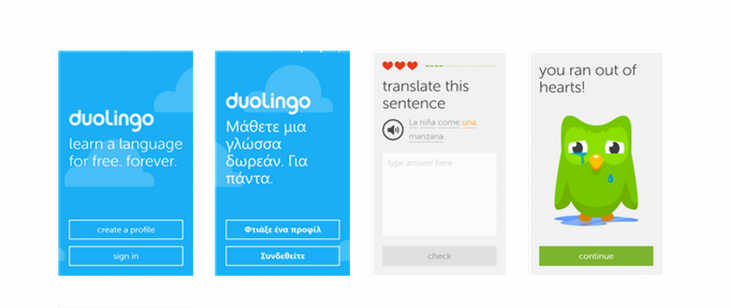 Duolingo brings its language learning app to Windows Phone