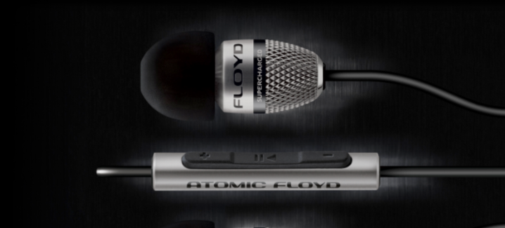 Atomic Floyd's latest premium earphones are made of titanium, and they pack a punch