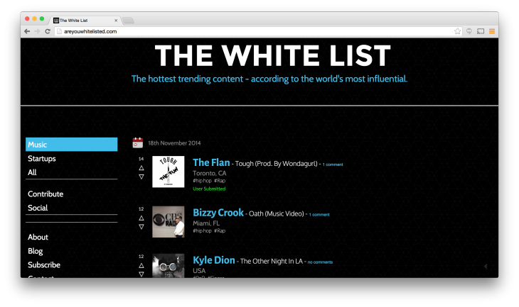 The White List