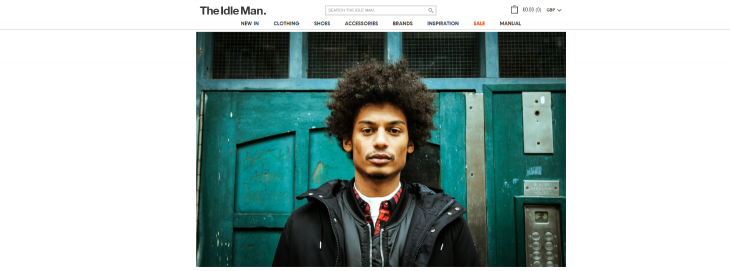 When it comes to fashion, UK men aren't well served online: The Idle Man wants to change that