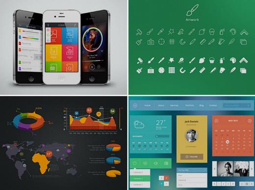 UI kits and premium themes