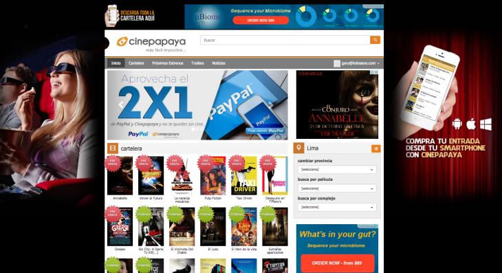 Web Cinepapaya