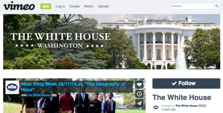 White-House-Vimeo-Channel