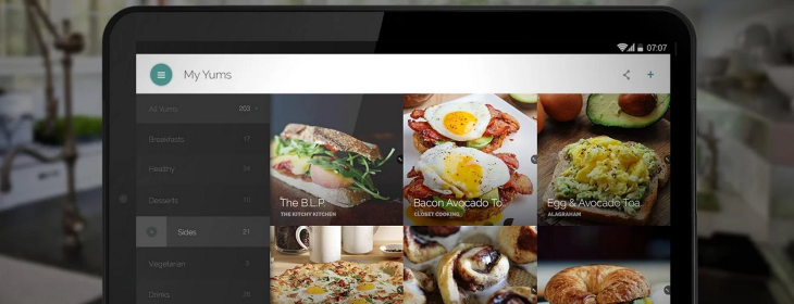 Yummly's recipe discovery app arrives for Android-owning foodies