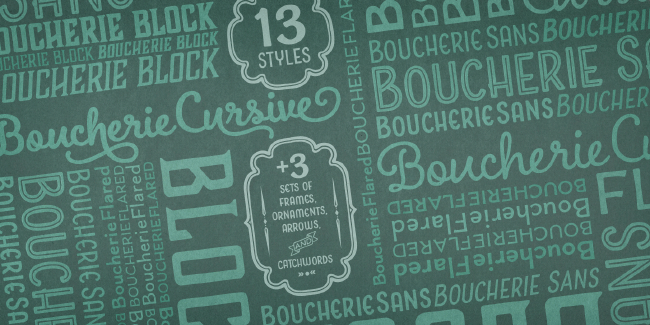 20 of the best typefaces released in November 2014