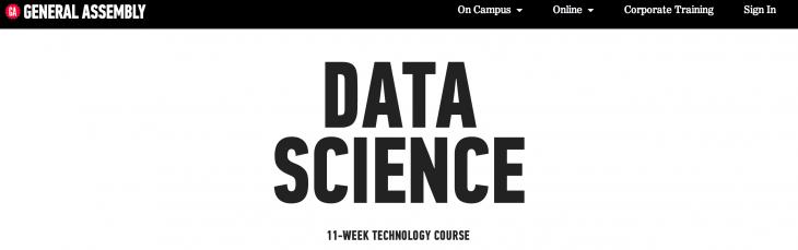 data science ga