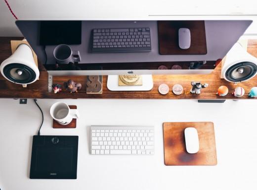 desk work office