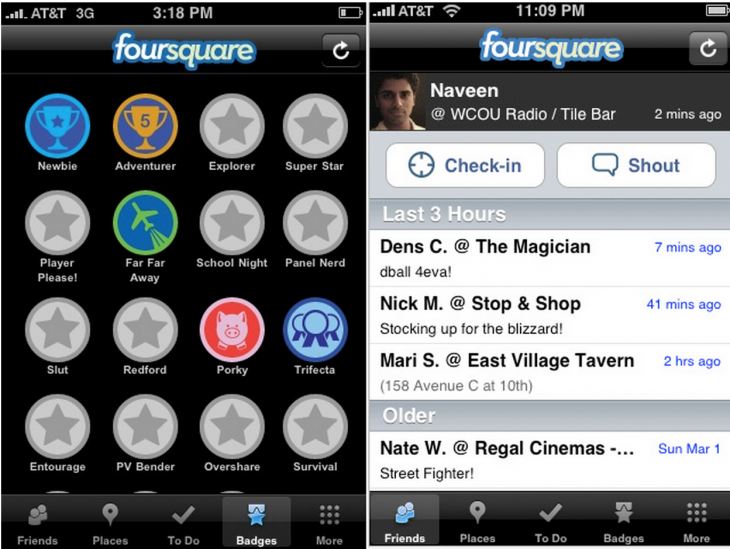 early foursquare