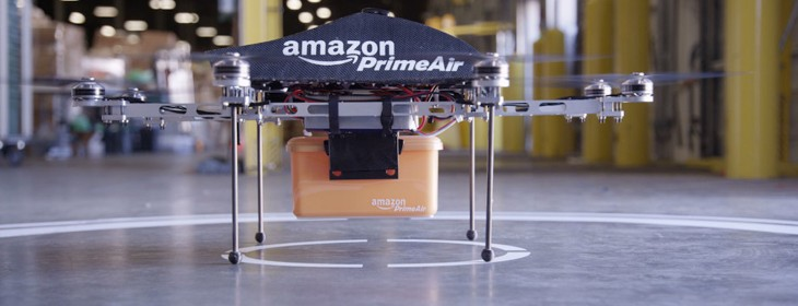 Amazon plans Prime Air delivery drone tests in the UK