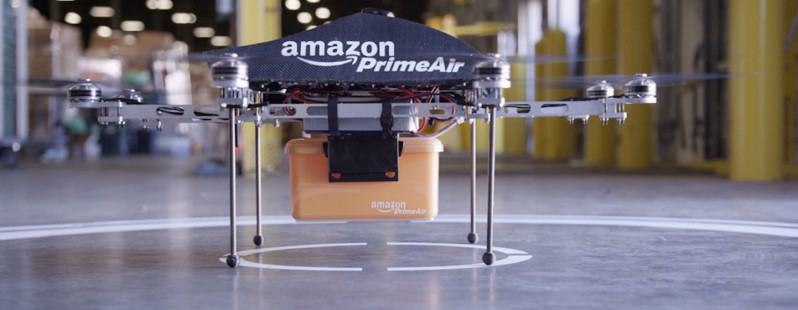 Amazon's UK Prime Air drone test flights branded 'barking mad' by locals
