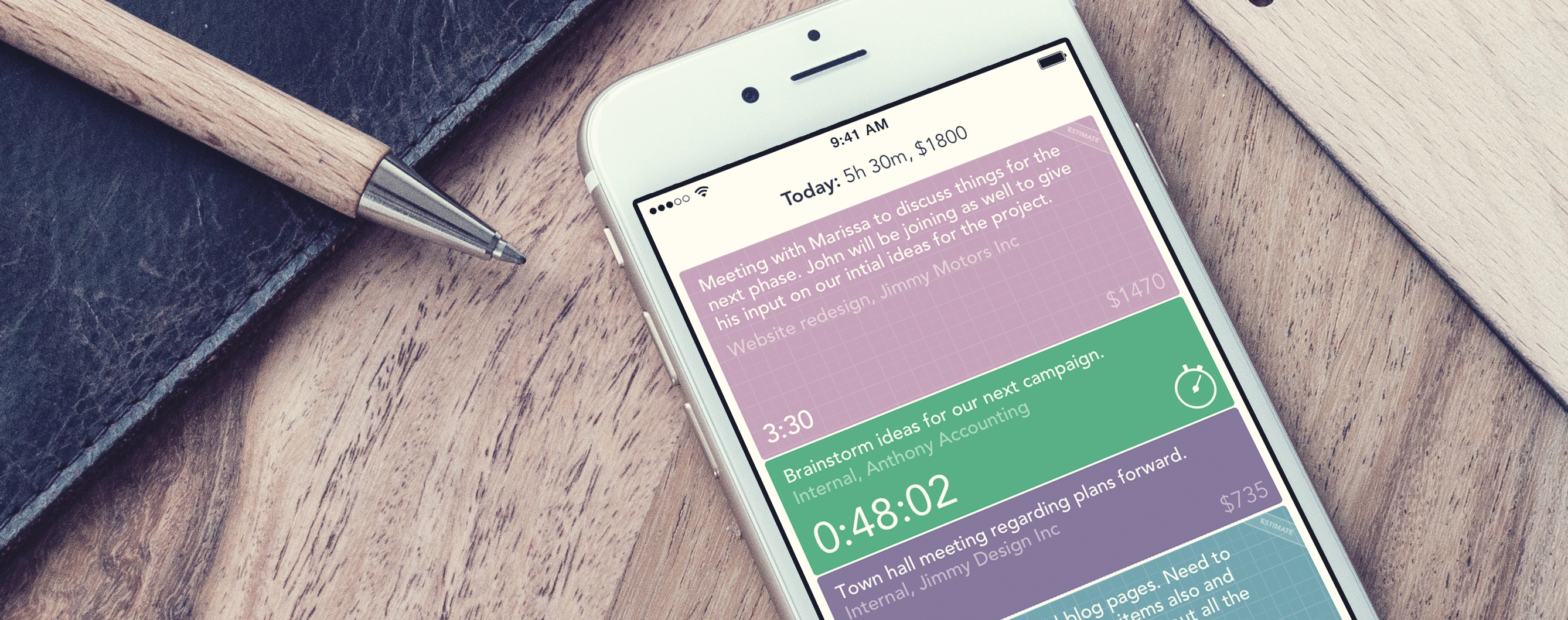 Timely for iPhone Gets Huge Overhaul to Help Kill Timesheets