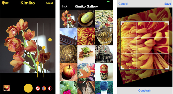 Photographer Kevin Abosch launches Kimiko, a color app analog to the monochrome Lenka