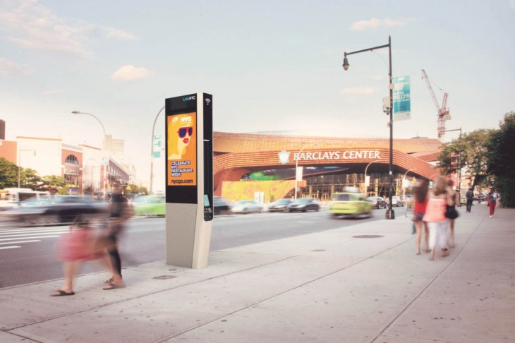 New York City's payphones are being replaced with kiosks armed with free gigabit Wi-Fi and charging ...