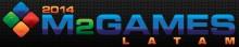 m2 games latam logo