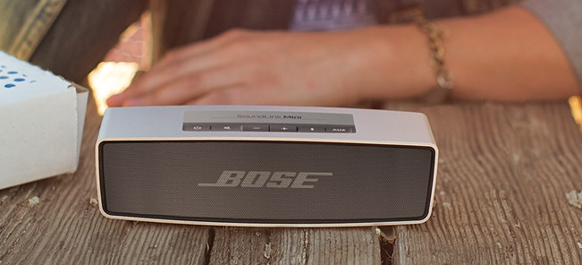 Ideal Gifts: The Bose SoundLink Mini Bluetooth speaker packs a punch