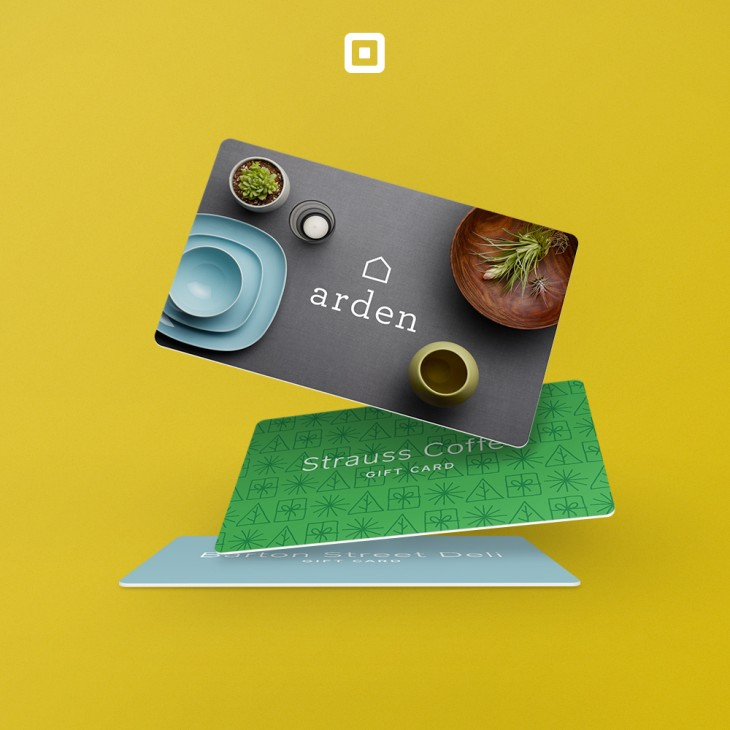Square begins offering customizable gift cards