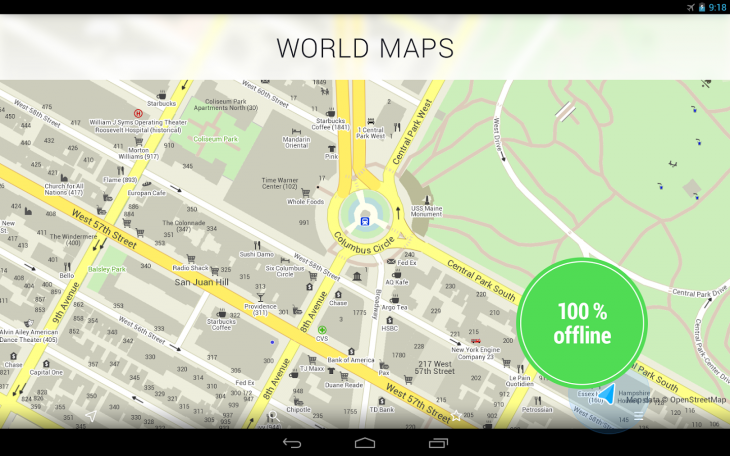 Mailru Acquires Mapsme To Expedite US Growth - Us maps for tomtom