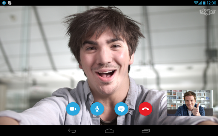 Skype for Android now lets you hold video calls while multitasking on your phone