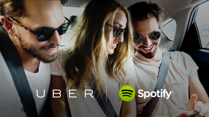Spotify and Uber partner to let you control the music during your ride