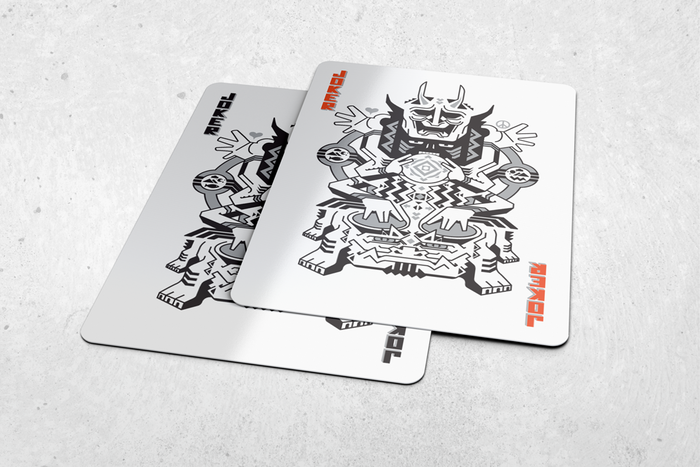 Ultimate Universe Playing Cards Fuse Art And Japanese Myth