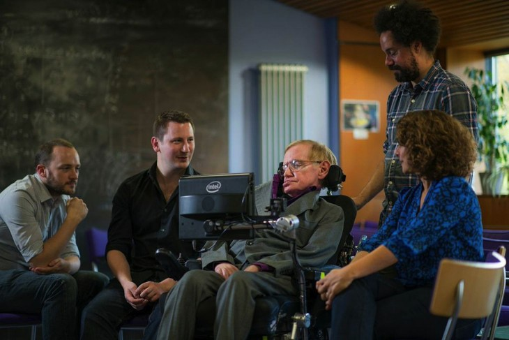 Professor Stephen Hawking's speedy new Intel speech system is built on SwiftKey