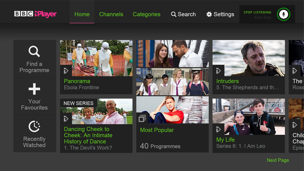 BBC iPlayer hits XBox One and extends TV show downloads to 30 days